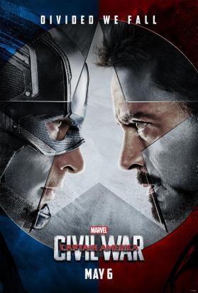 capitão américa- guerra civil poster