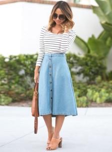 look-street-style-saia-midi-botao-jeans